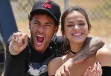 Neymar e Bruna Marquezine (Reprodução/Instagram Stories/GilCebola)