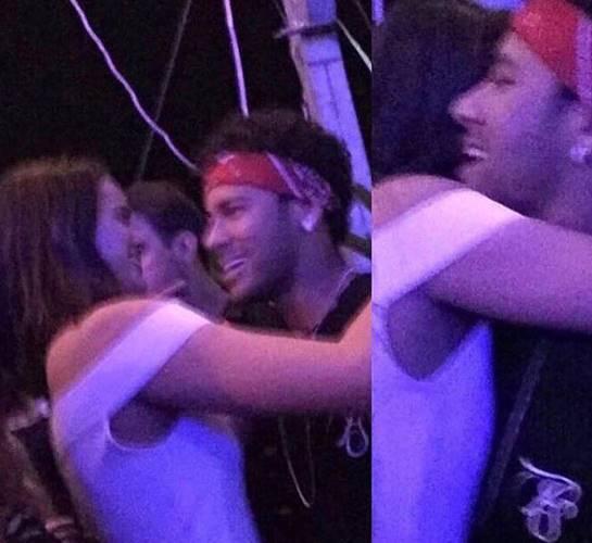 Vídeo: Bruna Marquezine e Neymar aparecem juntinhos ao pé do ouvido em festa no Tardezinha