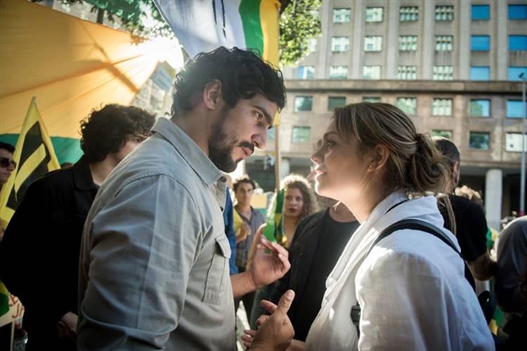 Os Dias Eram Assim - Alice e Renato (Globo/Raquel Cunha)