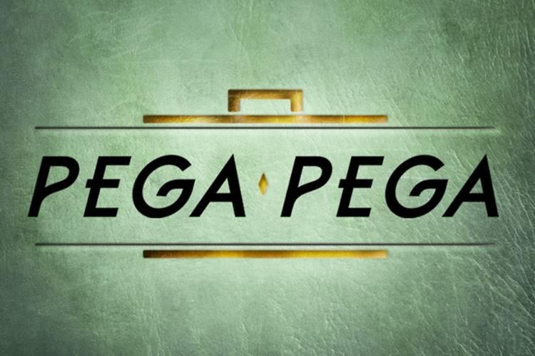 Pega Pega - Logo (Reprodução/TV Globo)