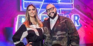 PopStar - Fernanda Lima e Tiago Abravanel (Globo/Mauricio Fidalgo)