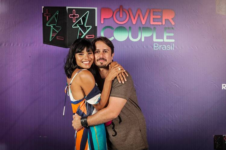 Power Couple - Suyane e Mauricio (Edu Moraes e Antonio Chahestian/Record TV)