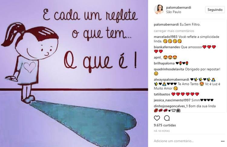Instagram/Paloma Bernardi