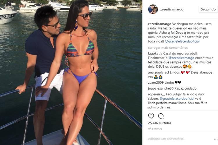 Graciele Lacerda mostra nova casa que viverá com Zezé Di Camargo