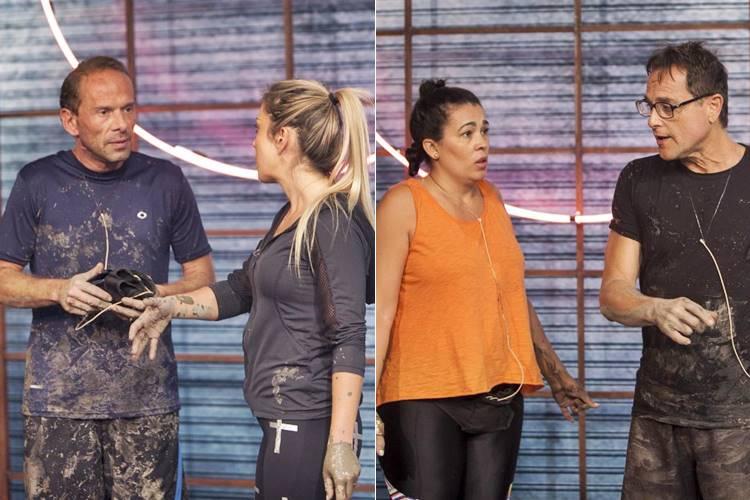 Rafael Ilha e Aline - Ana Paula e Sylvinho (Edu Moraes e Antonio Chahestian/Record TV)