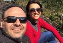 Rodrigo Riccó e Cátia Fonseca/Instagram