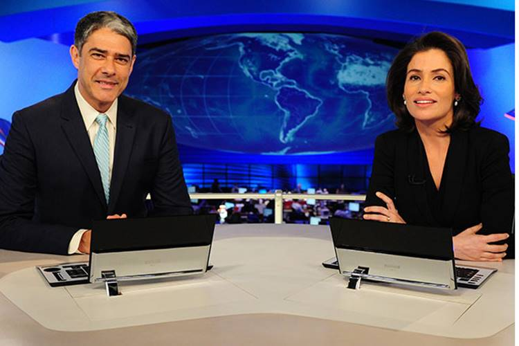 Globo inova em cenário no novo 'Jornal Nacional' e surpreende