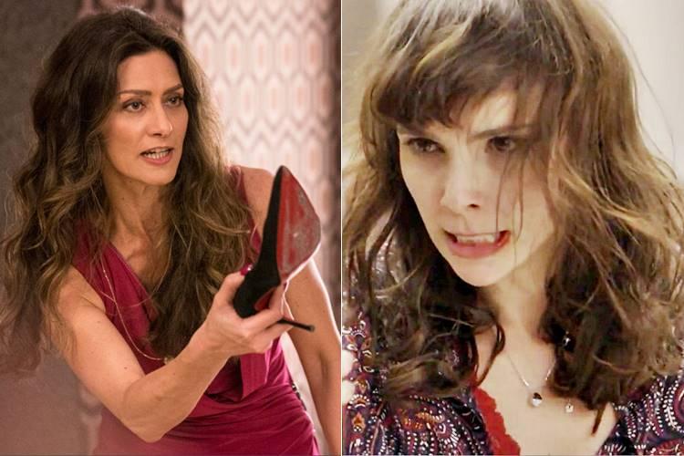A Força do Querer - Irene apanha de Joyce e Ritinha / TV Globo
