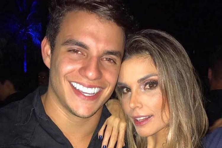 Ex-BBBs Antônio e Flávia curtem dois dias de shows em Goiânia e fãs especulam romance