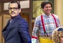 Bruno Garcia e Marco Luque (Reprodução/ TV Globo/Foto: Estevam Avellar)