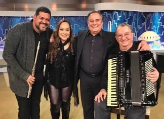 Carlos Kleber, Liv Moraes, Ronnie e Caçulinha/Divulgação