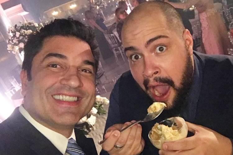Edu Guedes e Tiago Abravanel/Instagram