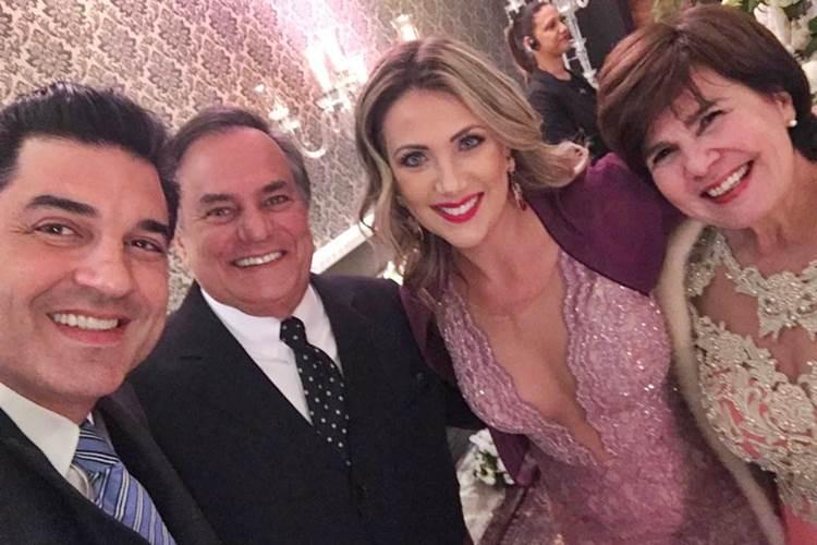 Edu Guedes - Ronnie Von - Erica Reis e Kika/Instagram