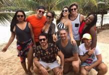Elis, Antônio, Mayara, Vivian, Manoel, Roberta, Luiz Felipe Rômulo e Daniel (Reprodução/Instagram)