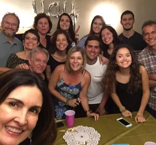 Fátima Bernardes e amigos (Reprodução/Instagram)