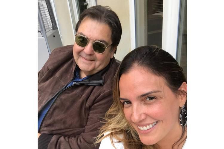 Faustão e Luciana Cardoso (Reprodução/Instagram)