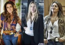 Giovanna Antonelli - Luana Piovani - Dira Paes (Alex Carvalho/Estevam Avellar/Globo)