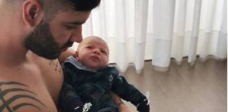 Gusttavo Lima e Gabriel (Reprodução/Instagram)
