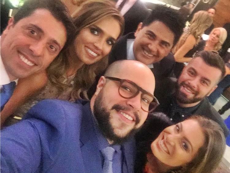Karyn Bravo e marido - Tiago Abravanel - Cesar Filho e Elaine - Fe/Instagram
