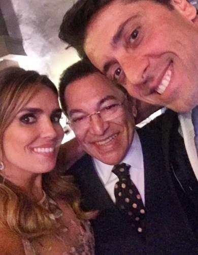 Karyn com o marido e Jassa/Instagram