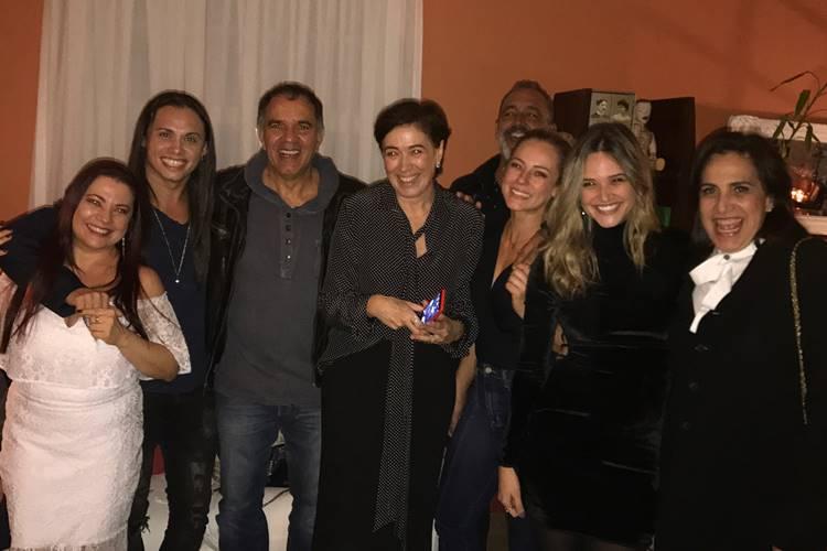 Lilia Cabral e convidados (Reprodução/Instagram/JulianaPaiva)