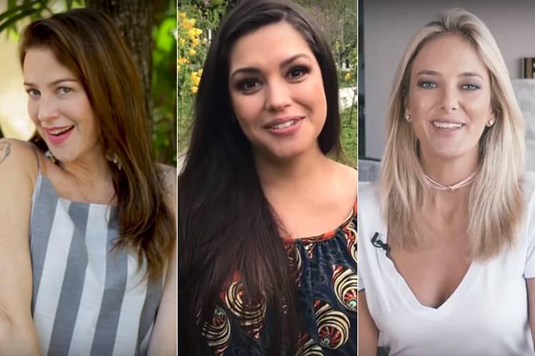 Luana Piovani, Thais Fersoza e Ticiane Pinheiro (Reprodução/Youtube)