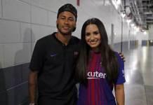 Neymar e Demi Lovato (Reprodução/Twitter)