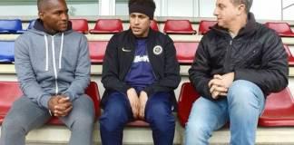 Neymar Jr e Luciano Huck (Globo/Divulgação)