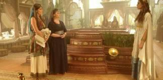 O Rico e Lázaro - Shaya descobre que Joaquim e Edissa se amam (Munir Chatack/ Record TV)