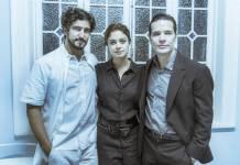 Os Dias Eram Assim - Renato - Vitor e Alice (Globo/Mauricio Fidalgo)