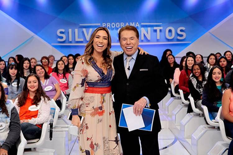 Patrícia Abravanel e Silvio Santos (Reprodução/SBT)