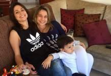 Priscila Montandon, Fernanda Gentil e Gabriel (Reprodução/Instagram)
