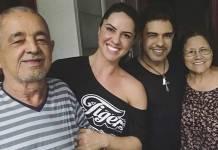 Seu Francisco, Graciele, Zezé e Dona Helena (Reprodução/Instagram)