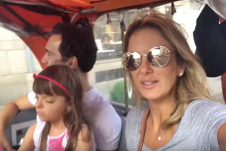 Ticiane Pinheiro, Rafinha Justus e César Tralli (Reprodução/Youtube)