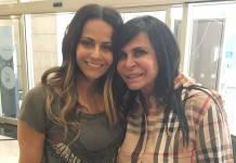 Viviane Araujo e Gretchen/Instagram