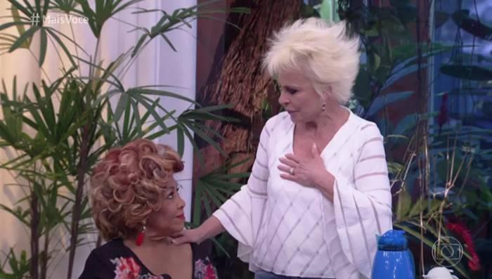 Alcione e Ana Maria Braga (Reprodução/TV Globo)