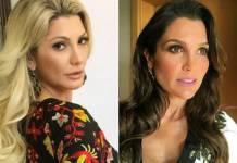 Antonia Fontenelle e Flávia Alessandra (Reprodução/Instagram)