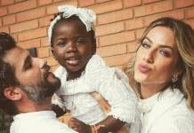 Bruno Gagliasso, Títi e Giovanna Ewbank (Reprodução/Instagram)