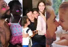 Bruno Gagliasso, Títi, Rodrigo Faro, Clara, Maria, Helena, Felipe Andreoli e Rocco (Reprodução/Instagram)