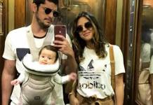 Bruno Gissoni, Yanna Lavigne e Madalena (Reprodução/Instagram)