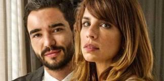Caio Blat e Maria Ribeiro (Reprodução/TV Globo/Foto: Renato Rocha Miranda)
