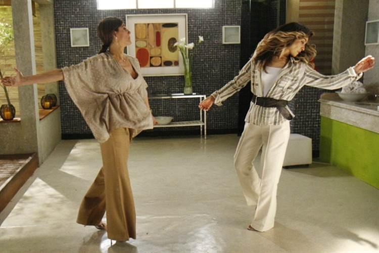 Caminho das Indias - Melissa e Yvone (TV Globo / Rafael França)