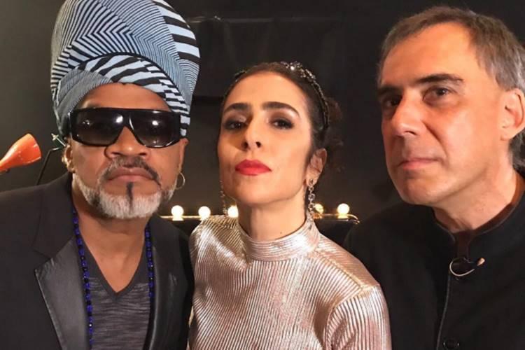 Carlinhos Brown, Marisa Monte e Arnaldo Antunes (Reprodução/Instagram)