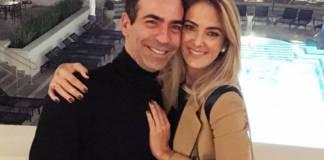 César Tralli e Ticiane Pinheiro (Reprodução/Instagram)