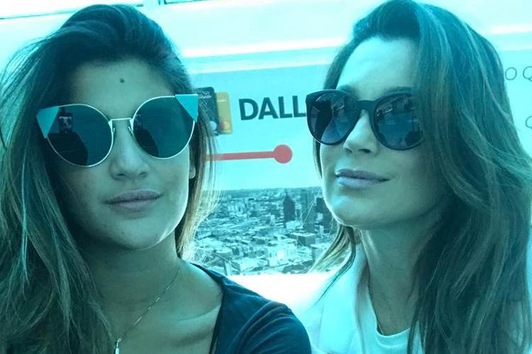 Giulia Costa e Flávia Alessandra/Instagram