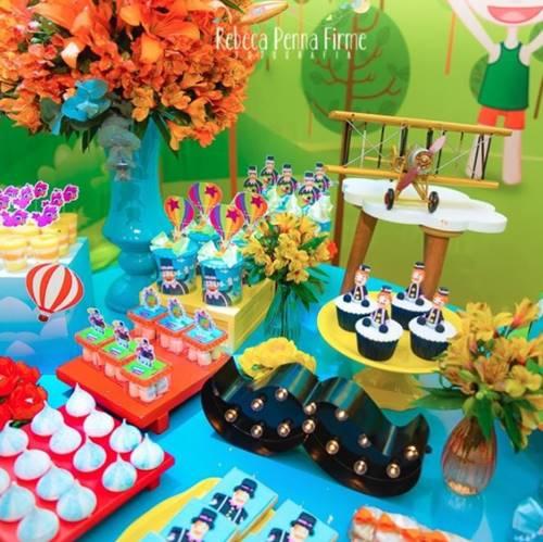 Detalhes da festa do Gabriel (Reprodução/Instagram/rebecapennafirmefoto)