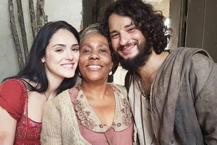 Isabelle Drummond,Dhu Moraes e César Cardadeiro (Reprodução/Instagram)