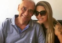 Marcelo Rezende e Luciana Lacerda (Reprodução/Instagram)