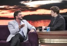 Marcos Harter e Porchat (Edu Moraes/Record TV)