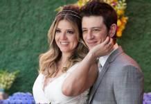 Mariana Santos com o marido/Instagram